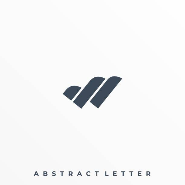 Abstract Letter Illustration Vector Template Abstract Letter Illustration Vector Template. Suitable for Creative Industry, Multimedia, entertainment, Educations, Shop, and any related business. animal body part stock illustrations