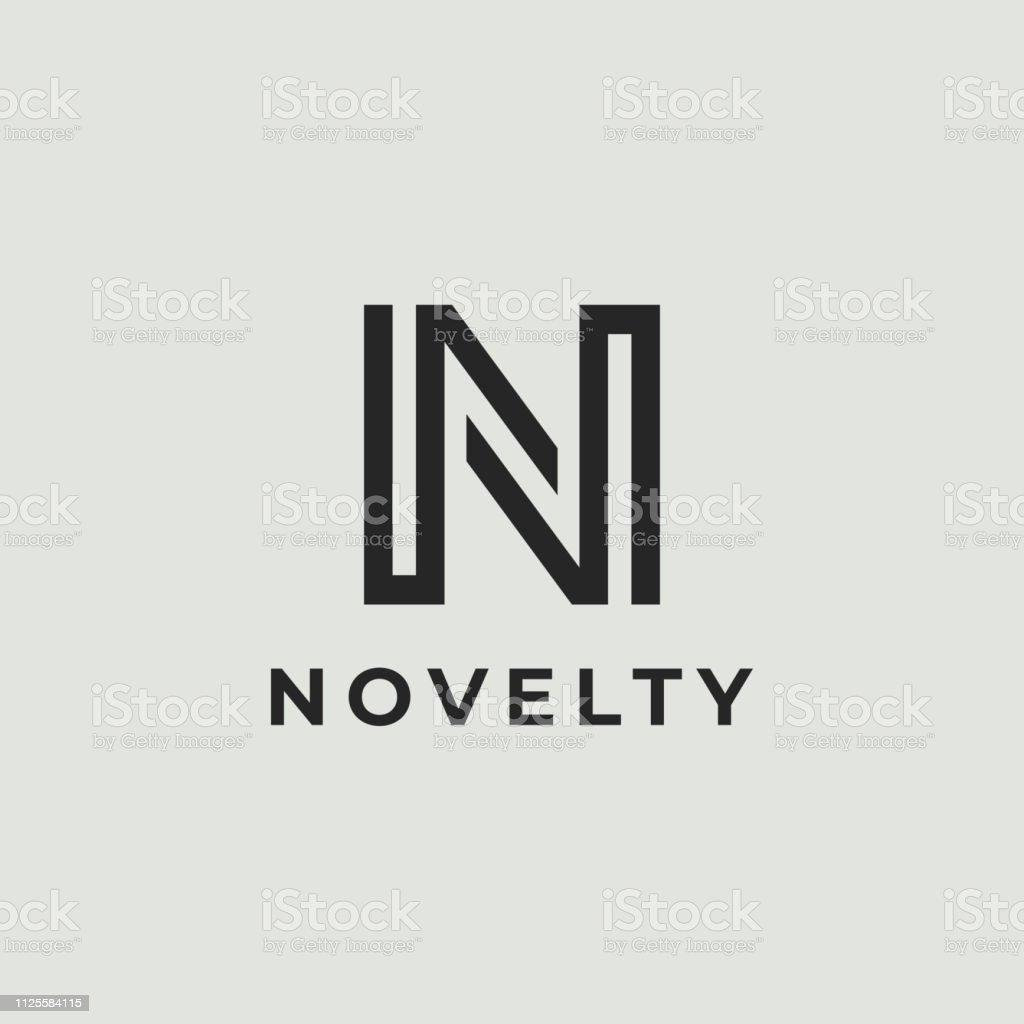 r u00e9sum u00e9 lettre logotype n signe did u00e9e logo moderne ic u00f4ne
