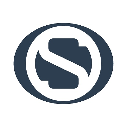 Abstract letter S logotype