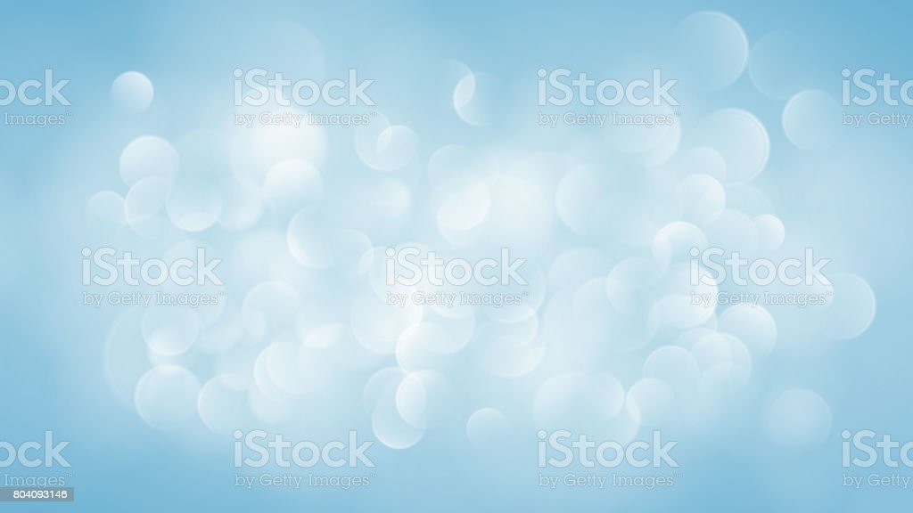 Abstract light blue blurred background vector art illustration
