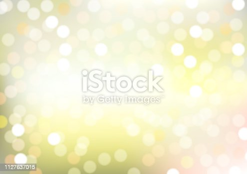 Abstract Light Blur and Bokeh Effect Background