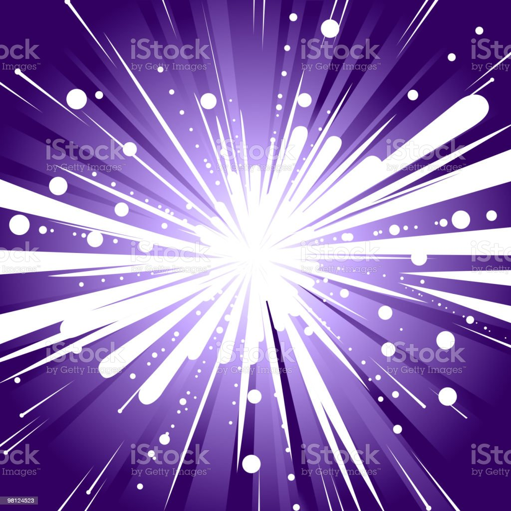 Abstract Light Burst Background royalty-free abstract light burst background stock vector art & more images of abstract
