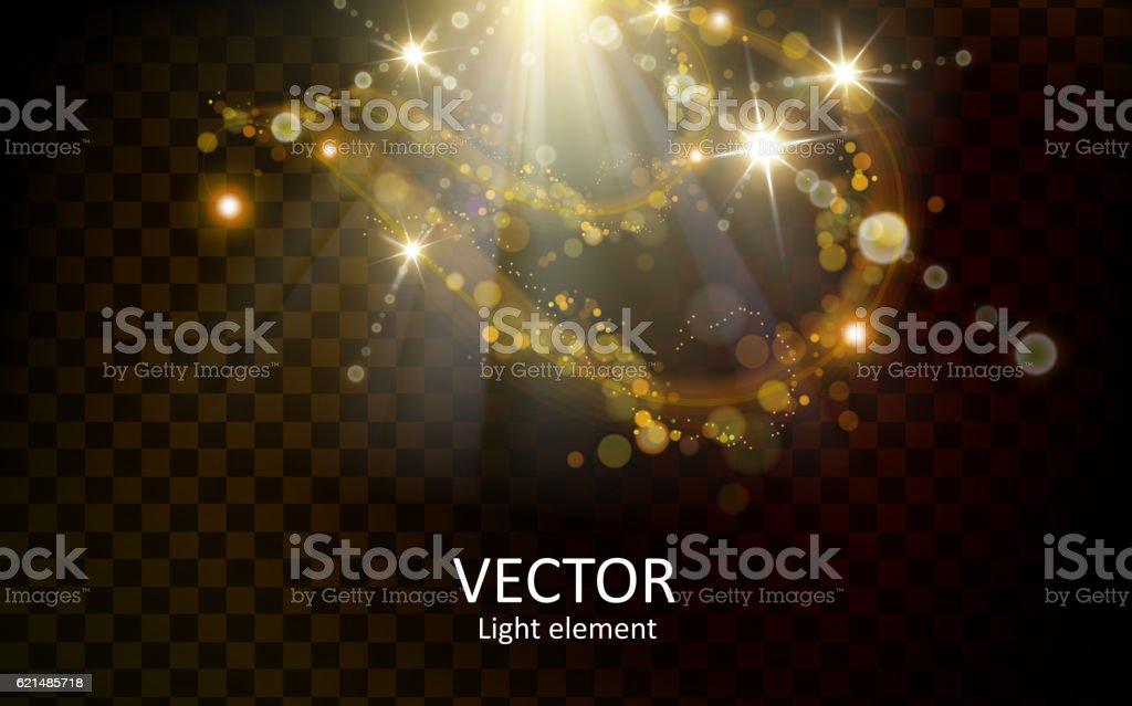 abstract light element abstract light element – cliparts vectoriels et plus d'images de abstrait libre de droits