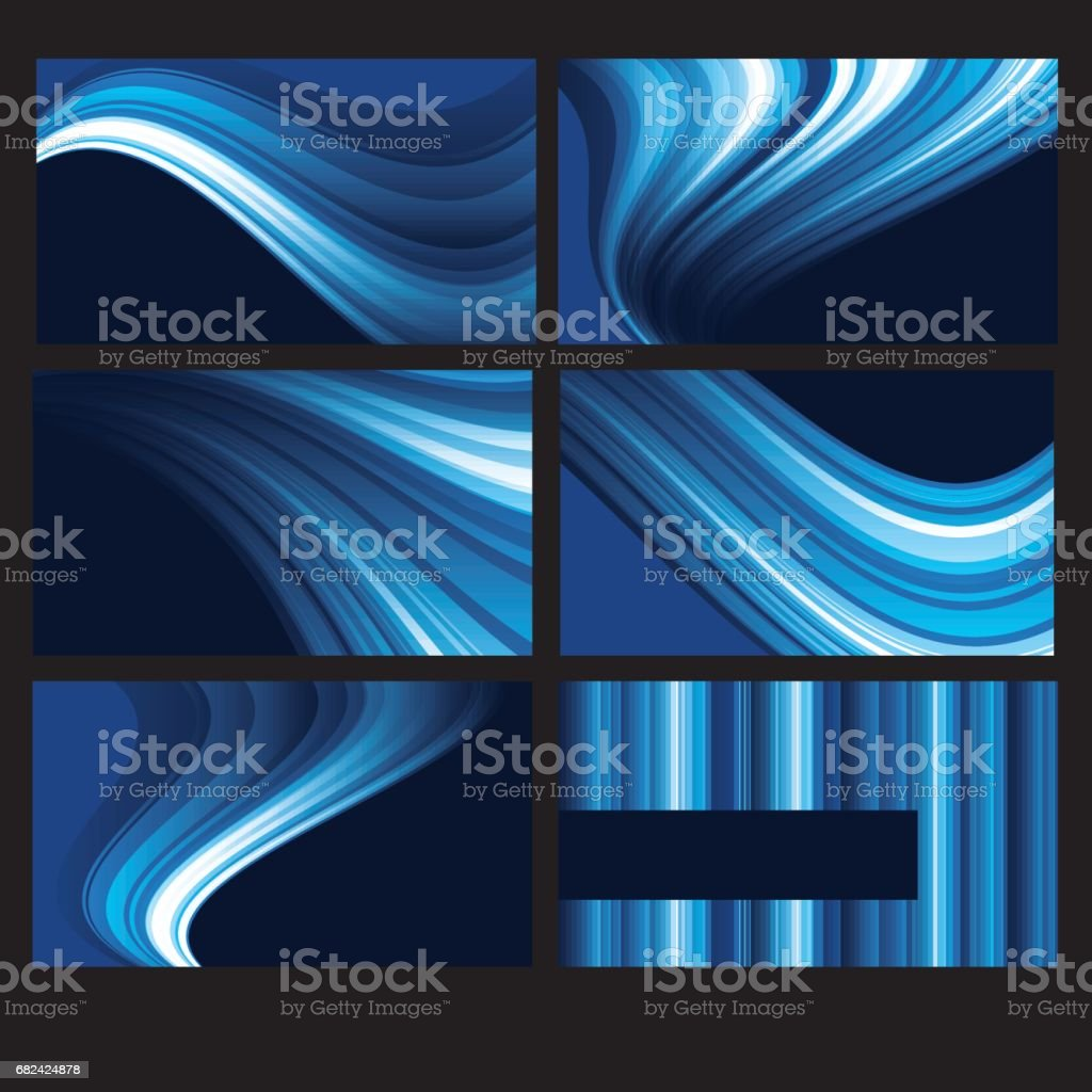 Abstract light glowing background set royalty-free abstract light glowing background set stock vector art & more images of abstract