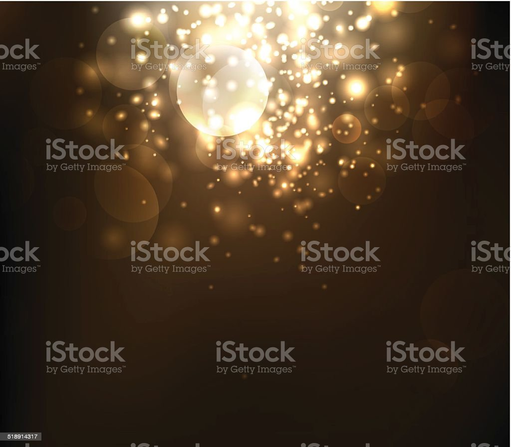 Abstract Lighting Background vector art illustration