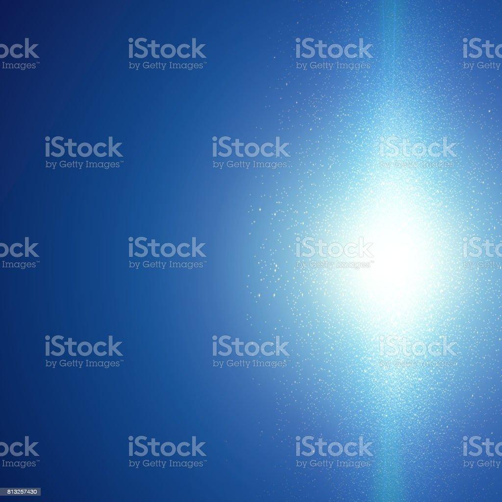 Abstract lightning storm background. vector art illustration
