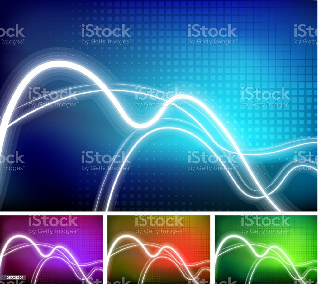 Abstract lights Background royalty-free stock vector art