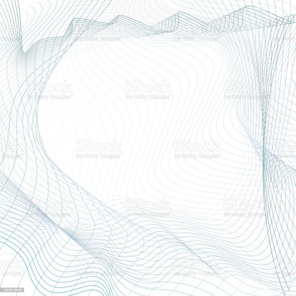 Ilustración de Diseño De Arte Abstracto De La Línea Azules Gris Las ...
