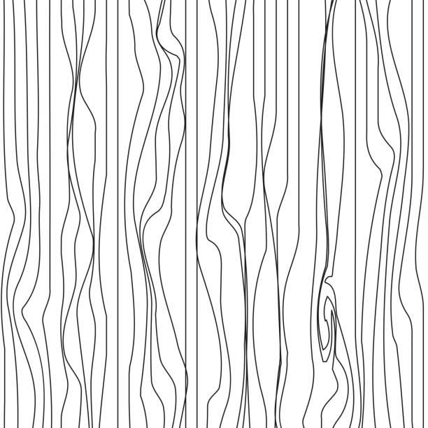 ilustrações, clipart, desenhos animados e ícones de design de fundo abstrato da linha - textura de madeira