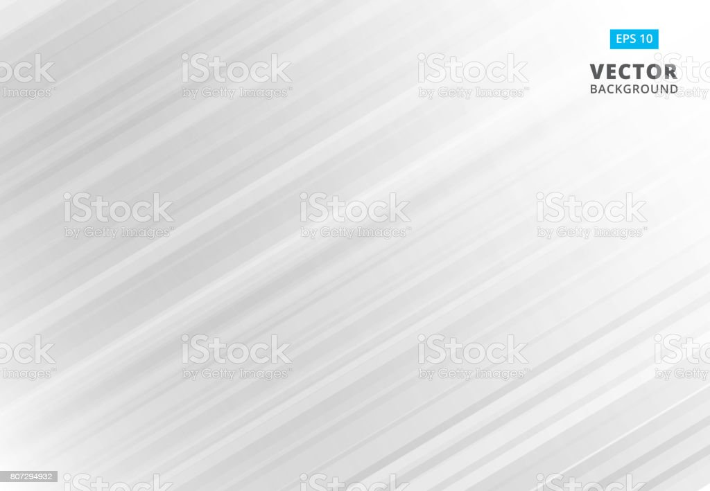 Abstract line pattern white and gray Background with Stripes. Vector Illustration vector art illustration