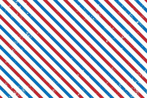 Abstract line pattern with grunge texture effect usa colours