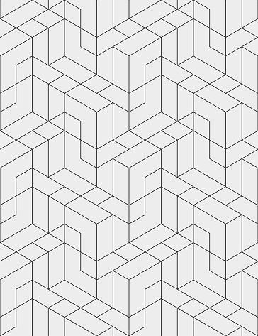 abstract line style geometric check structure seamless pattern texture background