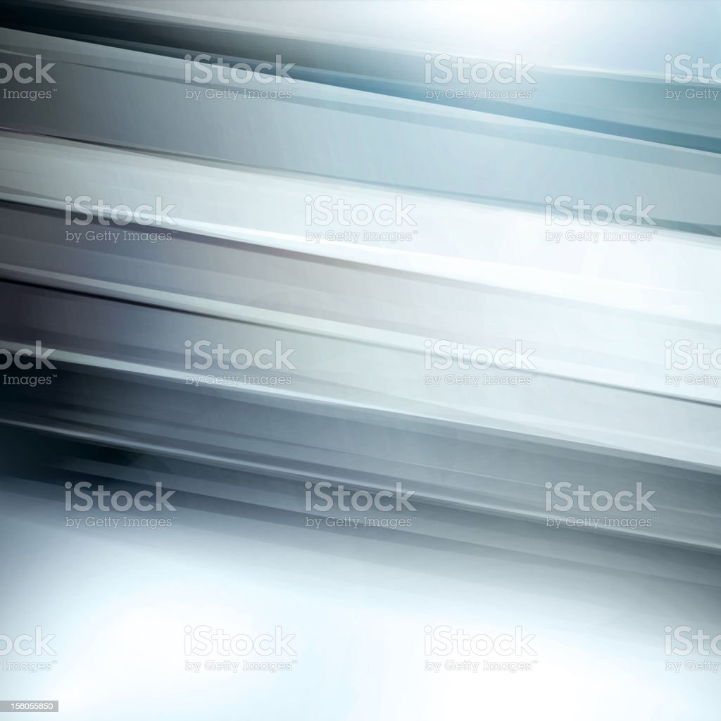 Abstract lines in shades of grey vector art illustration