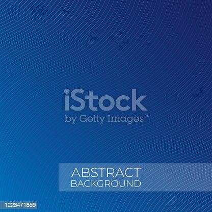 istock Abstract Lines Pattern Gradient Background Flat Design. 1223471859