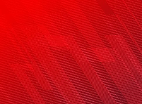 Abstract lines pattern technology on red gradients background. clipart