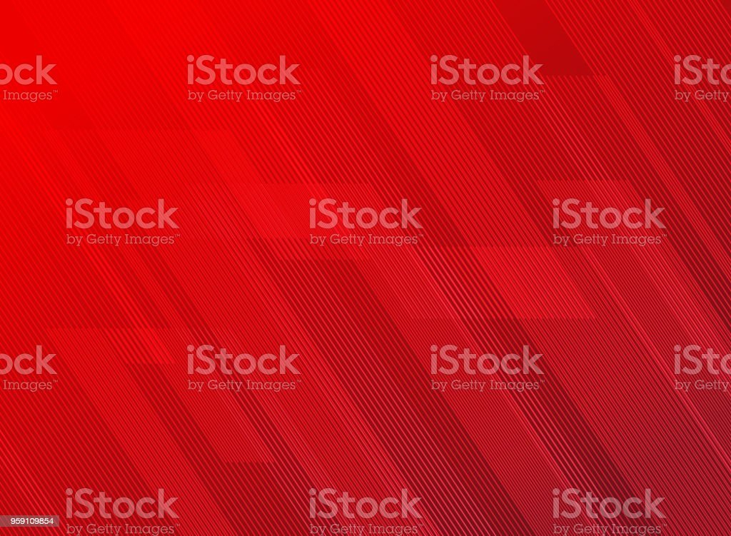 Abstract lines pattern technology on red gradients background. векторная иллюстрация