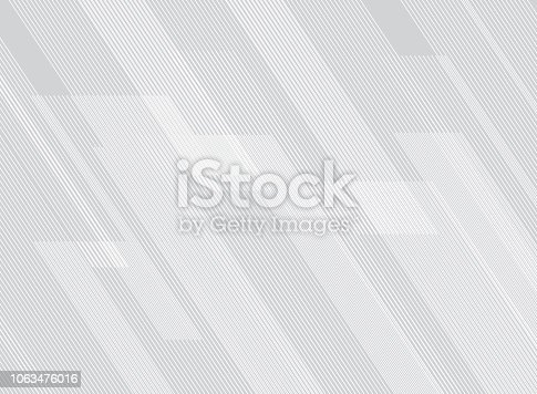 Abstract lines pattern technology on white gradients background. Vector illustration