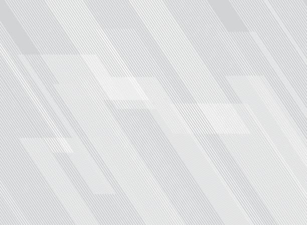 technologia abstrakcyjnego wzorca linii na tle gradientów białych. - ruch stock illustrations