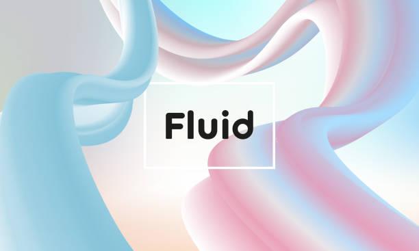 Abstrakte flüssige Hintergrund – Vektorgrafik