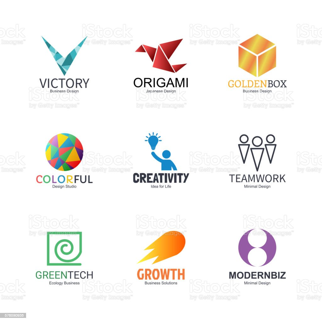 Abstract Logo Design Stock Illustration - Download Image Now - iStock