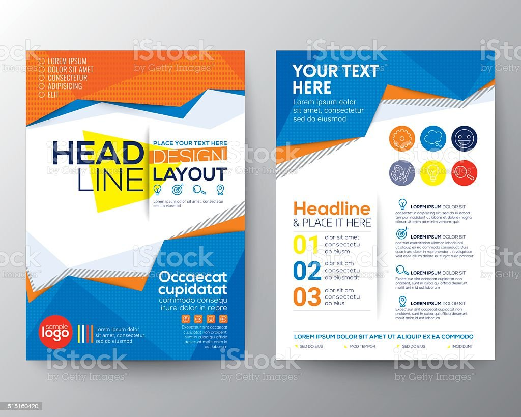 Abstract low polygon triangle shape Poster Brochure Flyer design layout vector art illustration