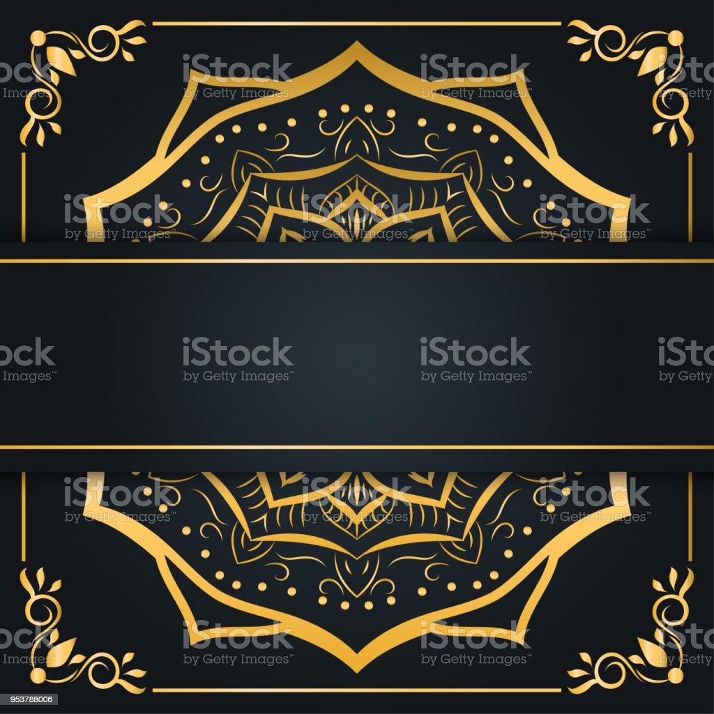 Abstract Luxury Background Ornament Elegant Invitation