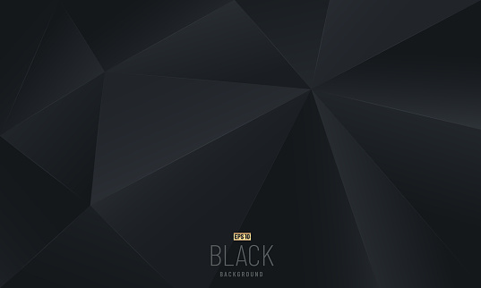 Abstract Luxury black and gray polygonal modern design. You can use for cover, poster, banner web, flyer, Landing page, Print ad. Vector illustration