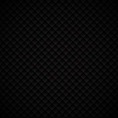 Abstract luxury black geometric squares pattern design on dark background