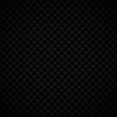 Abstract luxury black geometric squares pattern design on dark background. Luxurious texture. carbon metallic surface. Vector illustration