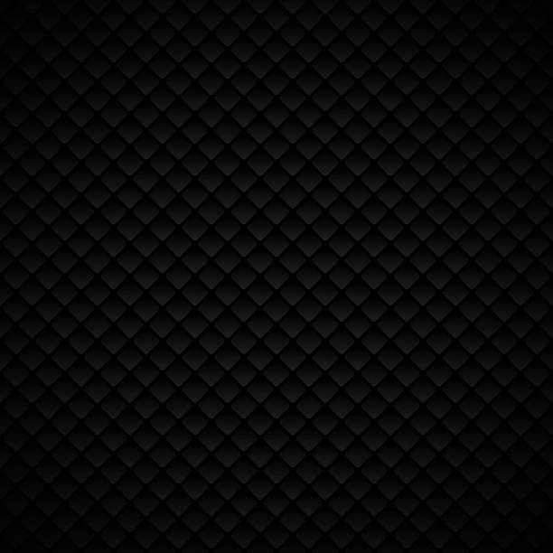 ilustraciones, imágenes clip art, dibujos animados e iconos de stock de diseño abstracto de lujo negro cuadrados geométricos sobre fondo oscuro - textura de pieles