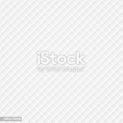 Abstract luxury white background with a pattern of squares texture. Vector illustration