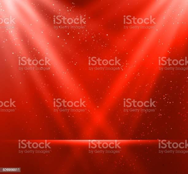 Tło Magiczny Czerwone Tło - Stockowe grafiki wektorowe i więcej obrazów Abstrakcja