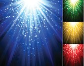Vector illustration Abstract magic light background. EPS 10. Contains transparent effect. Includes high res JPG  and Ai CS files.