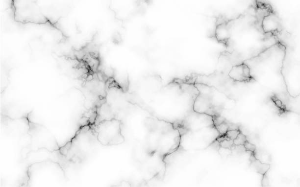 Abstract marble blue texture background Abstract marble pattern texture black and white background, Seamless texture can be used wallpapers, posters, cards, invitations, websites. - Vector marbled effect stock illustrations