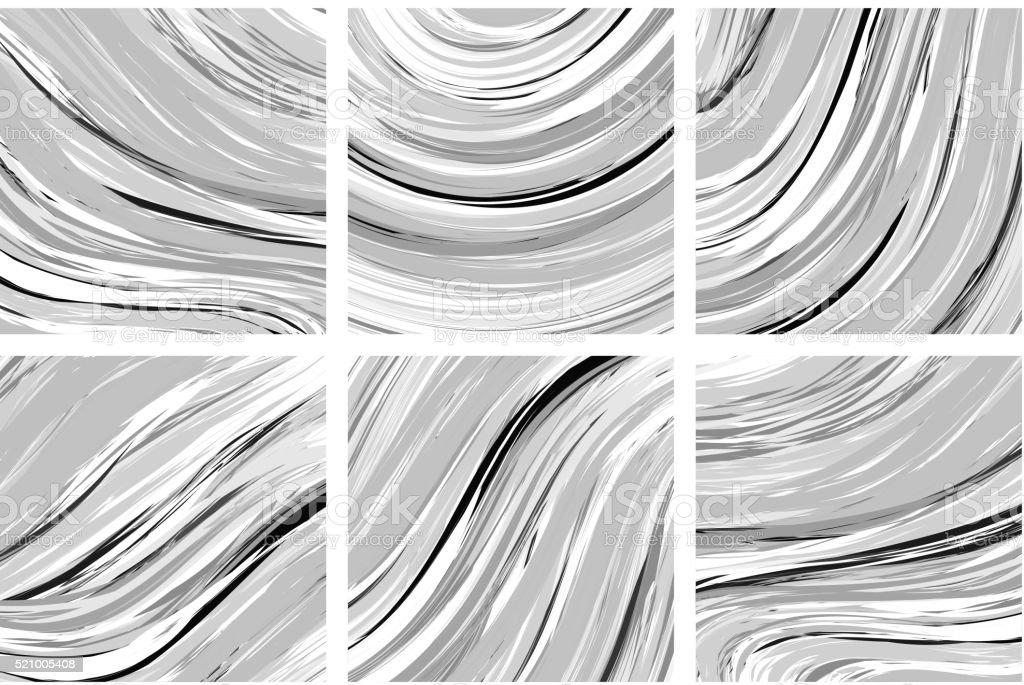 Astratto Di Marmo Sfondo Bianco E Nero Tecnica A Mano Immagini