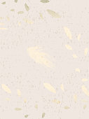 Abstract Marble Trendy Texture in Pastel and Gold colors .