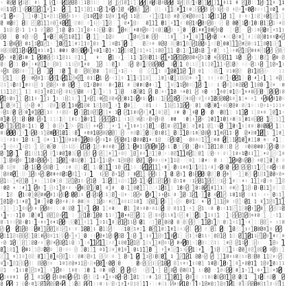 Abstract Matrix Background Binary Computer Code Coding And