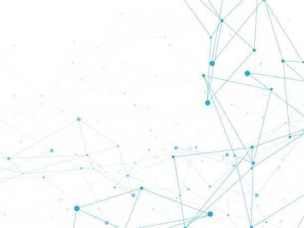 抽象的な機械的背景 - ネットワーク点のイラスト素材/クリップアート素材/マンガ素材/アイコン素材