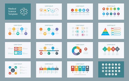 health infographics stock illustrations