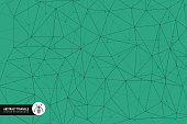 Single Line, Computer Network, Geometric Shape, Technology, Data