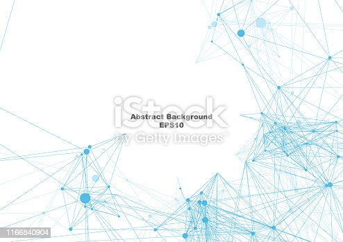 801051868istockphoto Abstract mesh on white background with circle, lines and shapes. illustration vector design background 1166840904