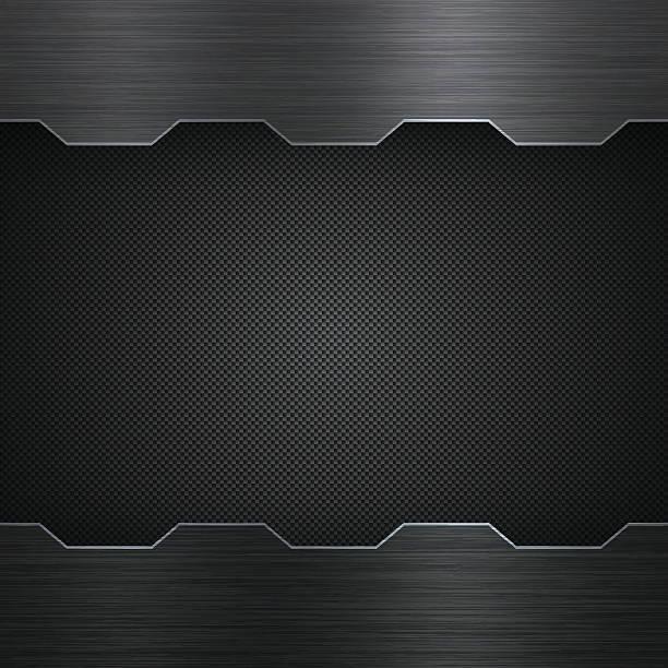 abstract metal background - carbon fiber texture - アルミのテクスチャ点のイラスト素材/クリップアート素材/マンガ素材/アイコン素材