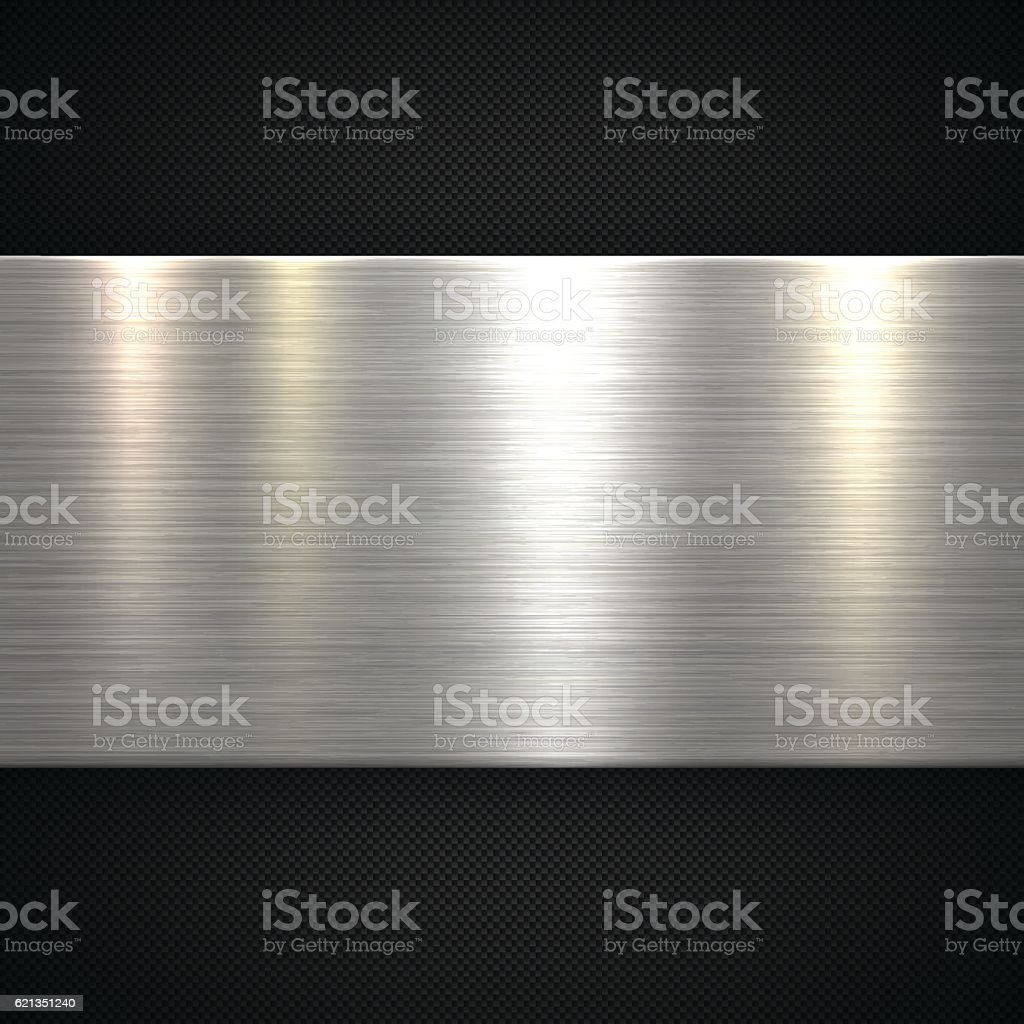 Abstract Metal Background - Carbon Fiber Texture ベクターアートイラスト