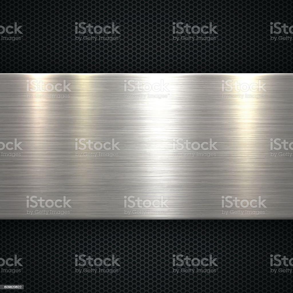 Abstrakte Metall Hintergrund - Lizenzfrei Abstrakt Vektorgrafik