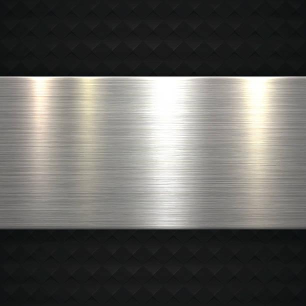 Abstract Metal Background向量藝術插圖