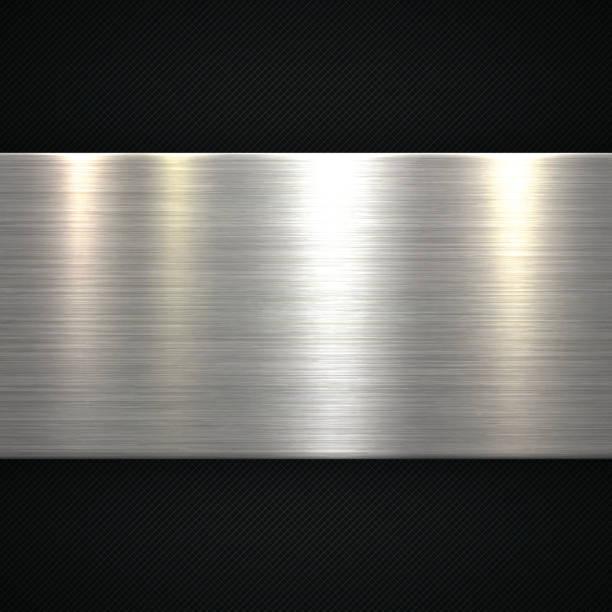 Abstrakte Metall Hintergrund – Vektorgrafik