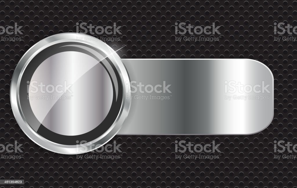 Abstract metal background vector illustration royalty-free stock vector art