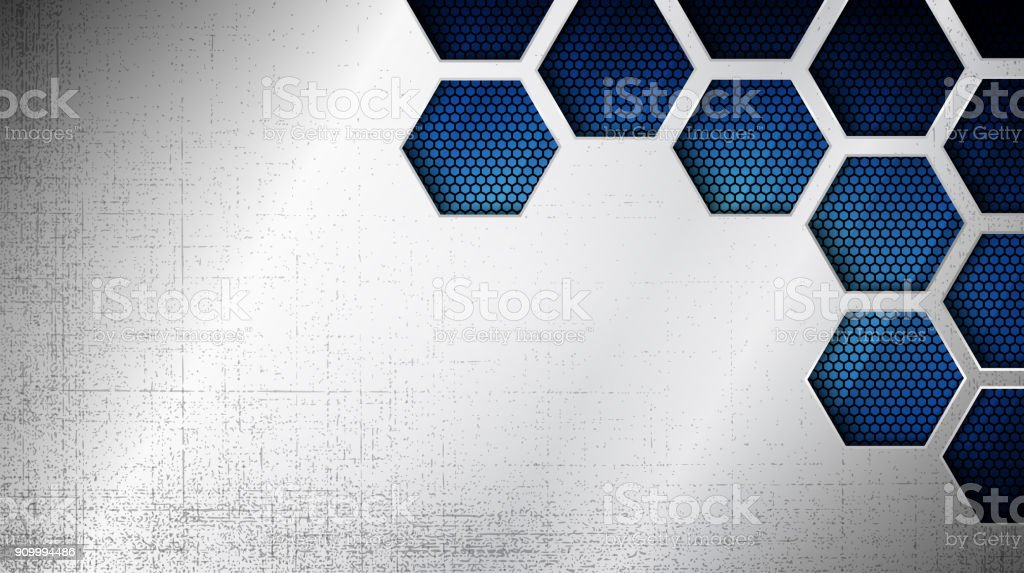 Abstract metal texture as a background vector art illustration