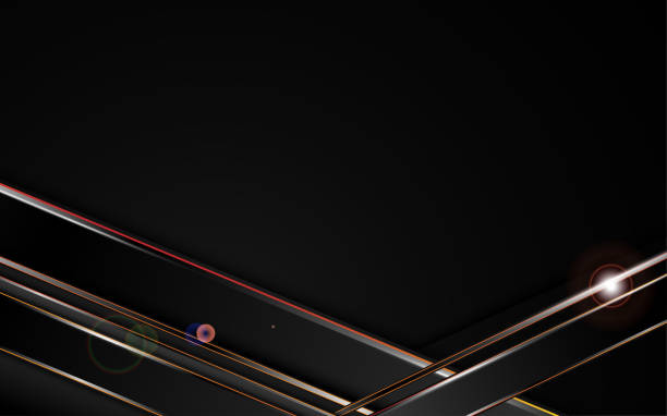 abstrakte metallisch Stahl Silber Schwarz Frame Vorlage Sport Design-Hintergrund – Vektorgrafik