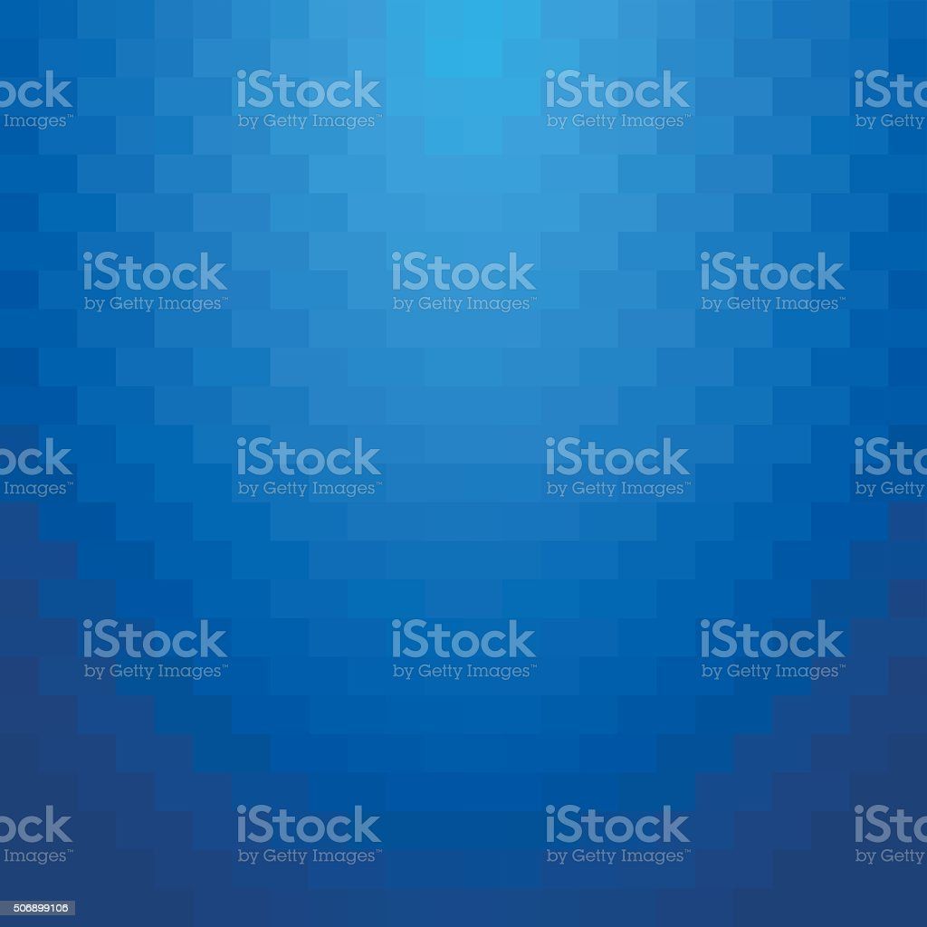 Abstract minimal background blue squares. vector art illustration